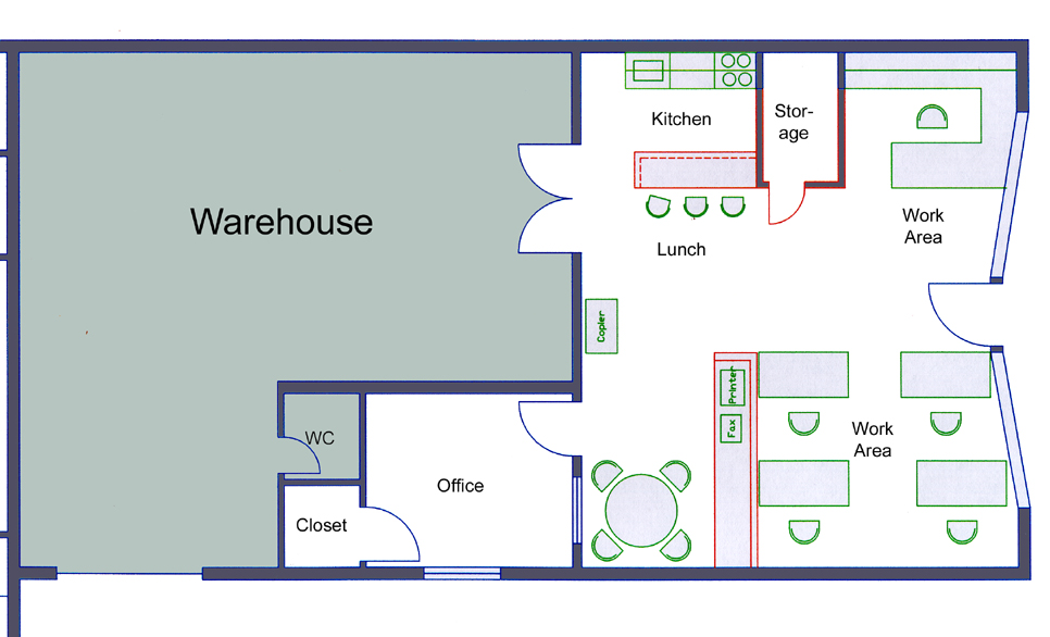 28 Warehouse Floor Plan Design Warehouse Office